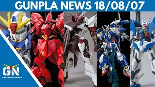 Gunpla Newst: No Name Astray - Exia Avalanche - OO Sky - Zeta - Unicorn- Narrative - Phenex