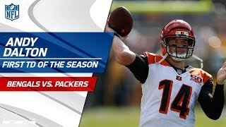 Cincinnati Scores First Touchdown of the Season! | Bengals vs. Packers | NFL Wk 3 Highlights