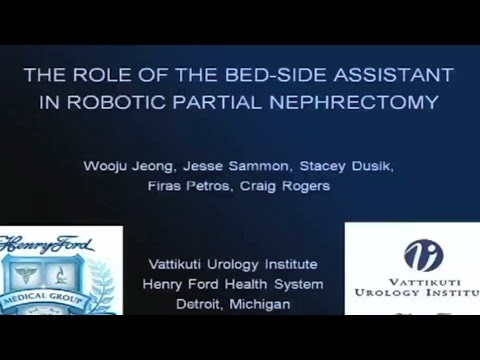 Bed Side Assistant In Robotic Partial Nephrectomy