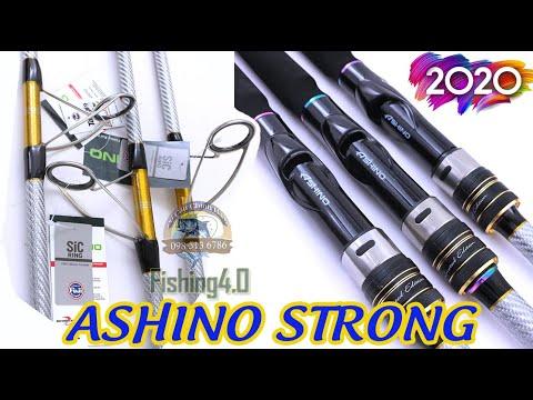 Cần Câu ASHINO STRONG Bạch Kim 3m0 - 3m15 Bản nâng cấp 2020 - Khoen Fuji Sic - Pad Ashino Limited
