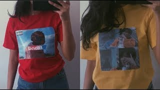 How to put pictures on t-shirts without transfer paper!