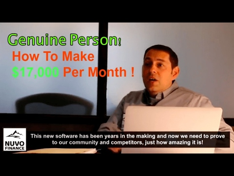 How To Make Money Online 2017 From Home – How To Make $17,000 Per Month !