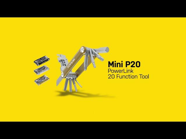Видео Ключ Topeak Mini P20
