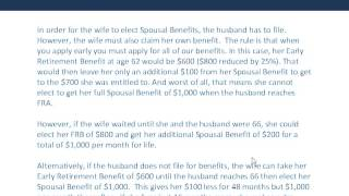 The Need to Know Series: Social Security