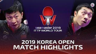 Ma Long vs Xu Xin   2019 ITTF Korea Open Highlights (Final)