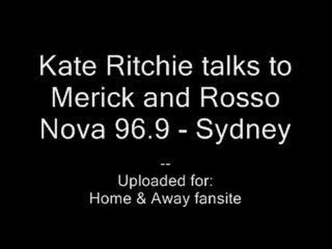 Kate Ritchie interview on nova 96.9