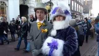 preview picture of video 'characters at the Dickens festival in Rochester, Kent.UK'