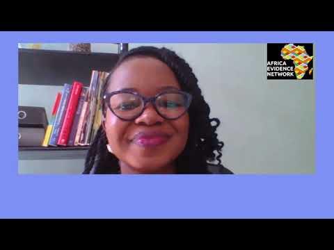 Africa Evidence Week 2021: Emerging EIDM leader_Gloria Anderson: why I fell in love with EIDM