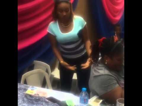 Nollywood actress, Doris Simeon Twisting her Waist