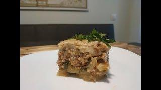 Мусака, мусака с картофелем и фаршем, рецепт мусаки с баклажанами