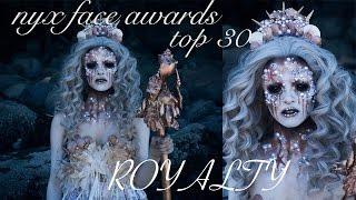 NYX FACE AWARDS TOP 30 | ROYALTY | COLOUR CREEP