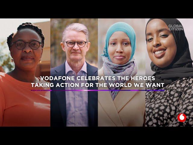 Vodafone'un değişim elçileri ile Global Citizen Prize'da buluşuyoruz!