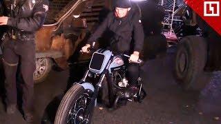 Крутой мотоцикл для Хабиба от «Ночных волков»
