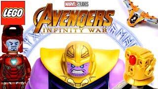 LEGO Avengers Infinity War 76107 Thanos: Ultimate Battle Обзор