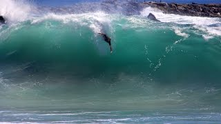 The Wedge - Hurricane Marie High Surf - AUG 2014 - Newport Beach, CA