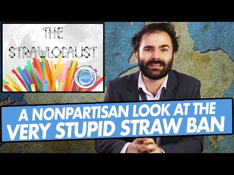 A Nonpartisan Look at The Very Stupid Straw Ban - SOME MORE NEWS