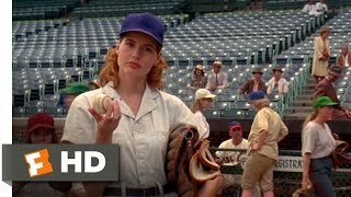 Dottie Catches a Fast Ball - A League of Their Own (2/8) Movie CLIP (1992) HD
