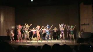 coreografia real in rio