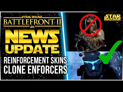 More Skins, Clone Commandos Are Enforcers, AI Hero Abilities   Star Wars Battlefront 2 Update
