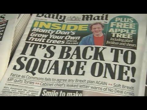 Brexit: Η επόμενη μέρα της απόρριψης και των εναλλακτικών προτάσεων…