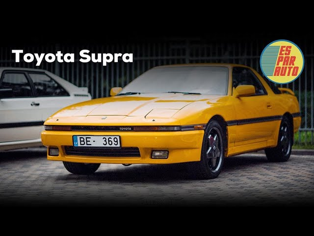 Toyota Supra MK3 - ES PAR AUTO