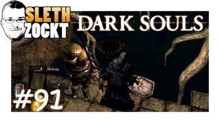 Let's Play Dark Souls #91 [DE/HD] - Siegmeyer Von Catarina, Rote Scholle, Ritter Solairs Ende