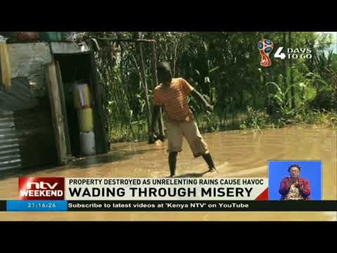 Families in Kano, Kisumu abandon homes, others live in submerged house