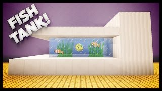 Minecraft - How To Build A Fish Tank