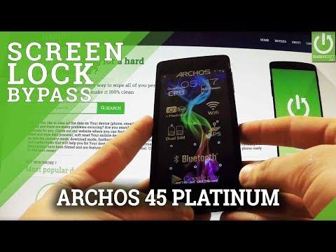 How to Unlock ARCHOS 45 Platinum - Hard Reset / Format
