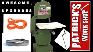 How to Awesome BandSaw Upgrades