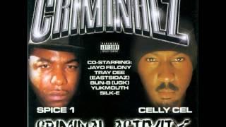 Niggas Like Us - Celly Cel, Spice 1 & Bun-B [ Criminal Activity ] --((HQ))--