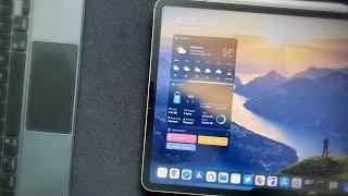 Best iPad Pro Widget Ever!