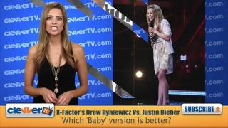 The X Factor's Drew Ryniewicz Vs. Justin Bieber: Which 'Baby' Version is better?