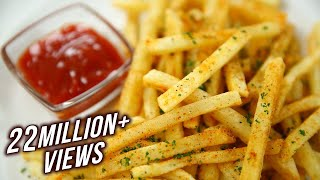 How to Make Crispy French Fries Recipe | Homemade Perfect French Fries Recipe | Varun Inamdar