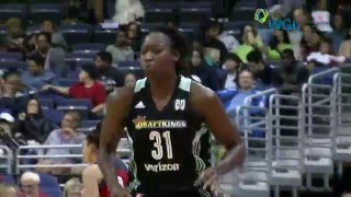 Tina Charles Records Double-Double in New York Liberty Win by WNBA
