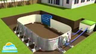 preview picture of video 'Civetta piscine interrate con bordo installatore rivenditore piscine Busatta'