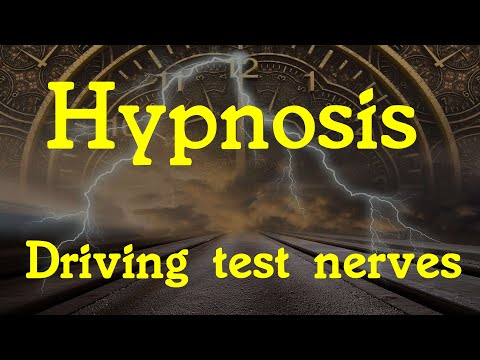 Hypnosis for driving test anxiety