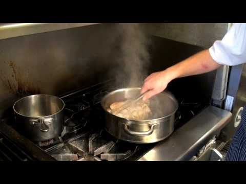 Kendall-Jackson: Chef Eric shows how to braise a turkey.