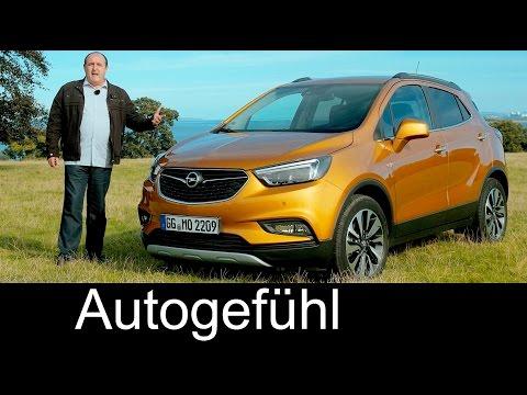 Vauxhall / Opel Mokka X FULL REVIEW test driven Facelift 2017 – Autogefuhl