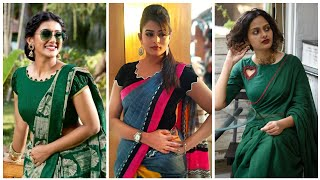2020s Best Collection Of Simple Blouse Designs // Simple But Stylish Saree Blouses