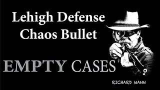Lehigh Defense .30 caliber Controlled Chaos Bullet