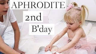 Aphrodites 2nd Bday (PART 1/2) PRINCESS PRESENTS