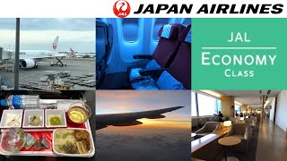 Japan Airlines ECONOMY Class: Tokyo Narita to Singapore