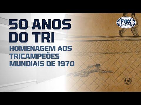 #FoxSports50AnosDoTri - O gol de Rivellino na vitória de 4 a 1 sobre a Tchecoslováquia