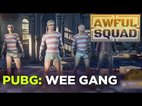 AWFUL SQUAD  – Wee Gang w/ Griffin, Travis, Clayton and Russ