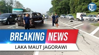 BREAKING NEWS Kecelakaan Maut Tol Jagorawi Sentul, Jasad Tergeletak di Jalanan, 3 Orang Tewas