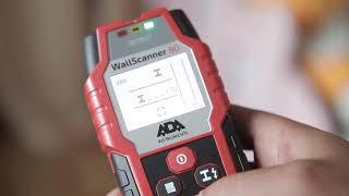 """ADA Wall Scanner 80 А00466 Детектор металла, проводки и дерева от компании ООО """"КИП-ПРОФИТ"""" - видео"""