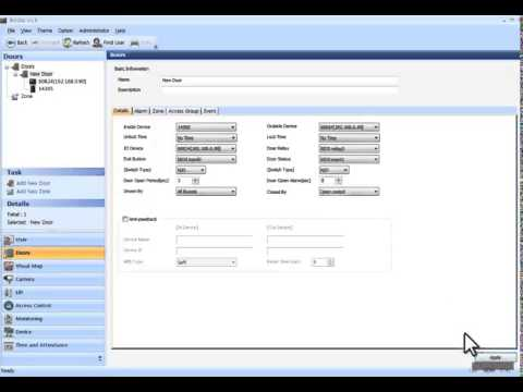 2Reader and Secure IO Door Configuration