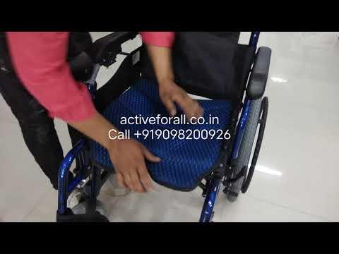 Lightweight Aluminium Power Wheelchair Lithium Ion Battery