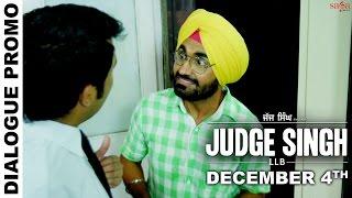 Dialogue Promo 2  Judge Singh LLB  Ravinder Grewal  Latest Punjabi Movies 2015